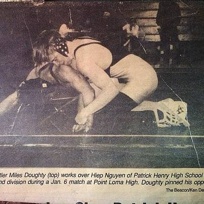Wrestling Photograph - Talk About A Throwback!! So Dope That I by Slightly Stoopid