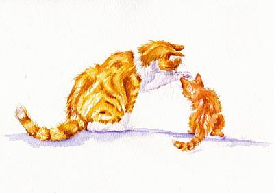 Talk To The Paw Original by Debra Hall