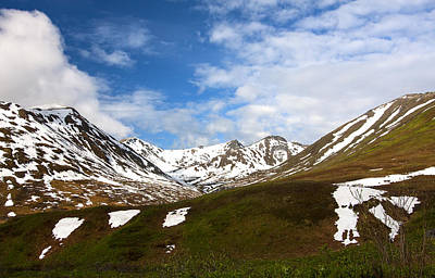 Photograph - Talkeetna Mountains Spring by Doug Lloyd