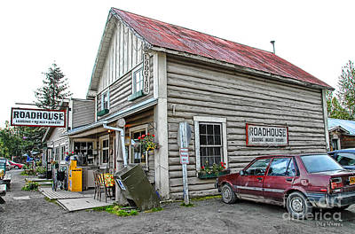 Photograph - Talkeetna Roadhouse by Dyle   Warren