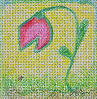 Painting - Talking In The Garden by Donna Blackhall