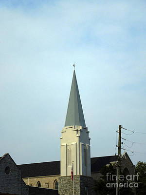 Photograph - Tall Church Steeple by Renee Trenholm
