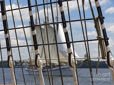 Photograph - Tall Ship 4 by Tom Doud