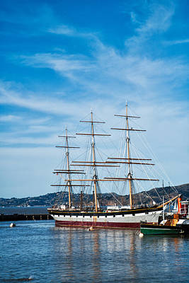 Tall Ship Balclutha San Francisco Art Print