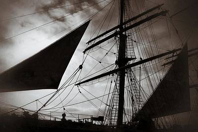 Photograph - Tall Ship by Dave Hall