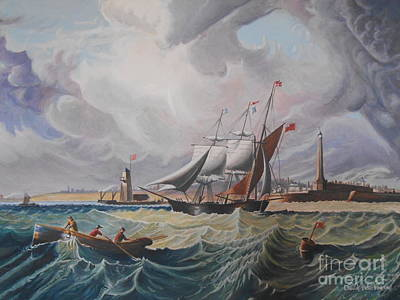 Tall Ship Art Print by David Paterson