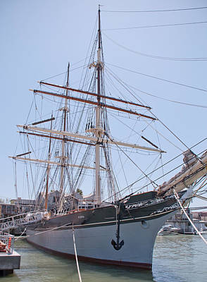 Photograph - Tall Ship Elissa - Galveston Texas by John Black