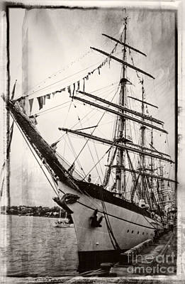 Photograph - Tall Ship by Fran Woods
