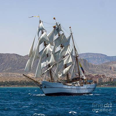 Photograph - Tall Ship Guayas by Pablo Avanzini