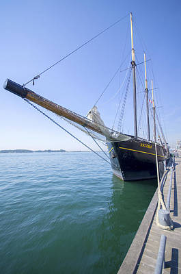 Photograph - Tall Ship Kajama by Ross G Strachan
