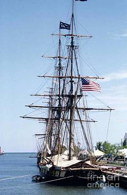 Photograph - Tall Ship by Kay Novy