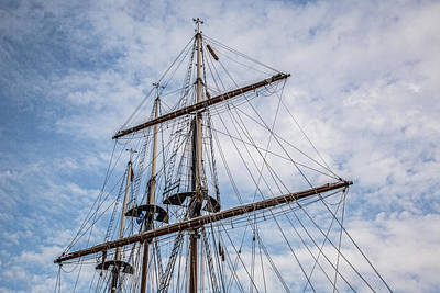 Travel - Tall Ship Masts by Dale Kincaid