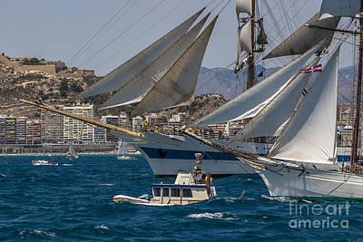 Photograph - Tall Ship Mir by Pablo Avanzini