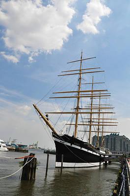 Tall Ship Mushulu At Penns Landing Art Print