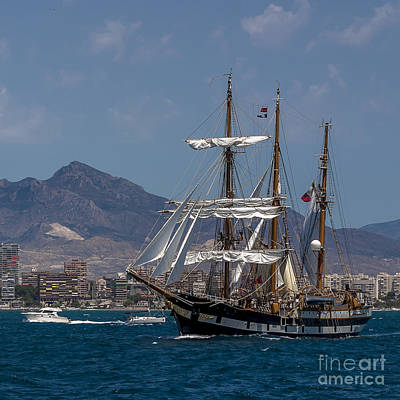 Photograph - Tall Ship Palinuro by Pablo Avanzini