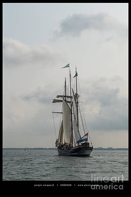 Photograph - Tall Ship Race by Jorgen Norgaard