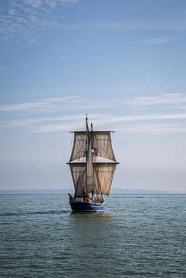 Photograph - Tall Ship Sailing by Dale Kincaid