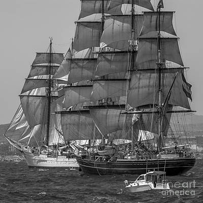 Photograph - Tall Ship Stad Amsterdam by Pablo Avanzini