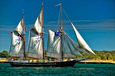 Tall Ship Art Print by Steve Harrington