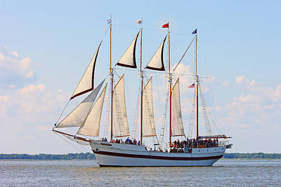 Photograph - Tall Ship Windy by Fuad Azmat