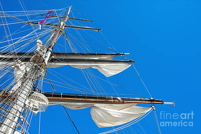 Tall Ship Yards Art Print