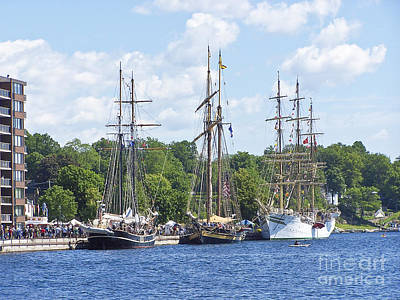 Photograph - Tall Ships 1 by Tom Doud