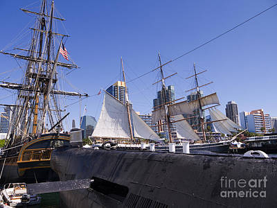 Photograph - Tall Ships Come Home by Brenda Kean