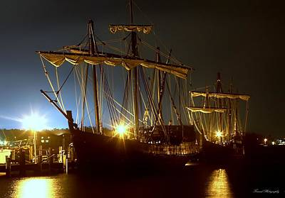 Photograph - Tall Ships by Debra Forand