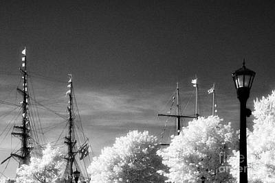 Tall Ships Art Print by Jeff Holbrook
