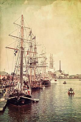 Photograph - Tall Ships by Joel Witmeyer