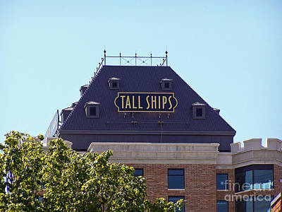 Photograph - Tall Ships Sign 1 by Tom Doud