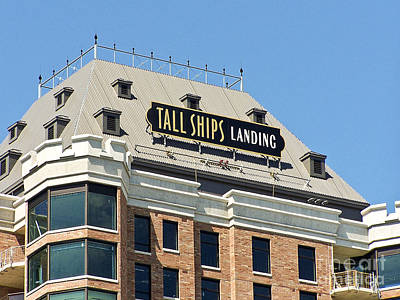 Photograph - Tall Ships Sign 2 by Tom Doud