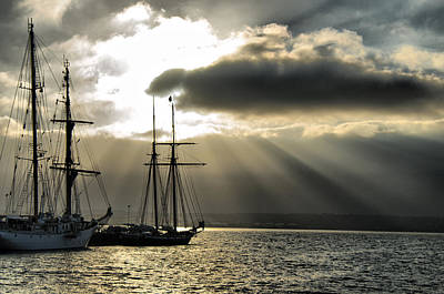 Photograph - Tall Ships by Tam Ryan