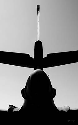 Art Print featuring the photograph Tall Tail - B-1b/7 Wishes by Steven Milner