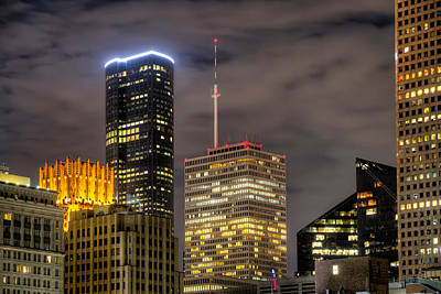 Skyline Photograph - Tall Tops by Tim Stanley