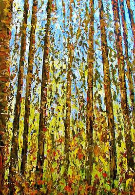 Painting - Tall Trees by Kat Griffin