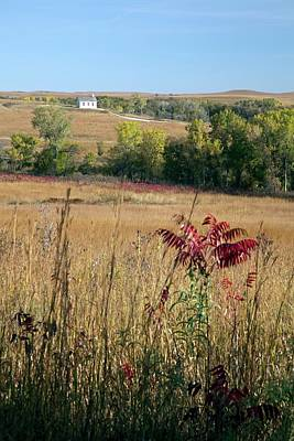 Strong America Photograph - Tallgrass Prairie by Jim West