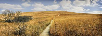 Konza Prairie Photograph - Tallgrass Prairie by Michael Hodges
