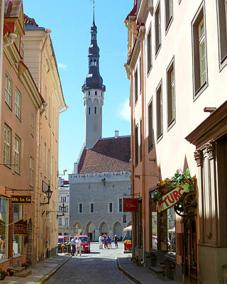 Tallinn City Hall Art Print