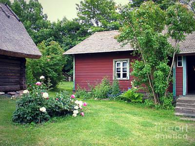 Photograph - Tallinn Historic Village by Art Photography