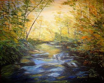 Tallulah River Color Art Print by Barbara Pirkle
