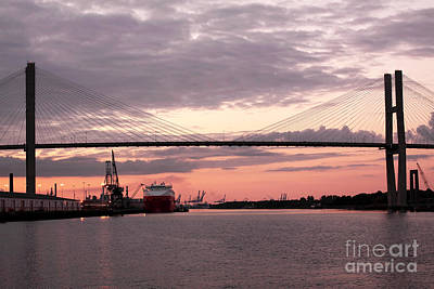 Talmadge Memorial Bridge Art Print