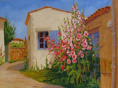 Painting - Talmont France by Liliane Fournier
