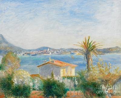 Mediterranean Sea Wall Art - Painting - Tamaris by Renoir