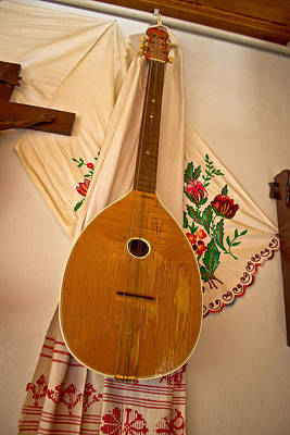 Tamburica Croatian Traditional Music Instrument Art Print