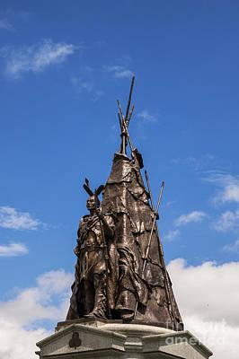 Tammany Regiment Monument At Gettysburg Art Print