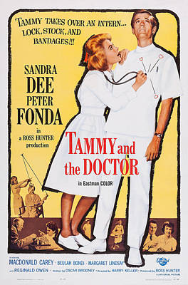 Tammy And The Doctor, Us Poster Art Art Print by Everett
