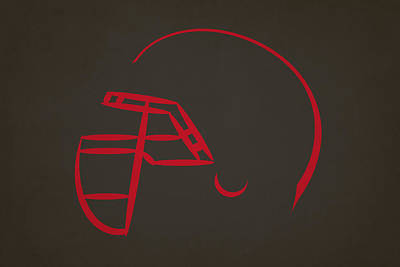 Tampa Bay Buccaneers Helmet Art Print