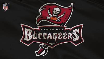 Tampa Bay Buccaneers Uniform Art Print