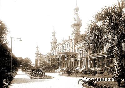 Tampa Bay Drawing - Tampa Bay Hotel, Tampa, Fla, Resorts, Hotels by Litz Collection
